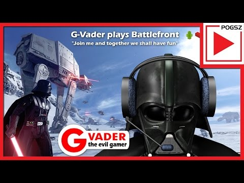 G-Vader plays Star Wars Battlefront. Is he too old for this fast paced FPS s*** or will he do ok?