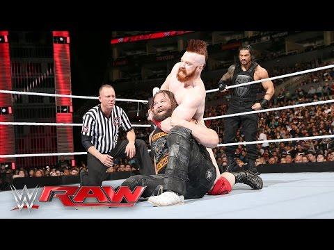 Roman Reigns & Bray Wyatt vs. Sheamus & Alberto Del Rio: Raw, April 11, 2016