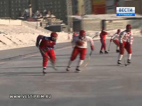 Команда «ВОСТОК» в первенстве России по хоккею с мячом дважды обыграла команду «САЯНЫ-ХАКАСИЯ»