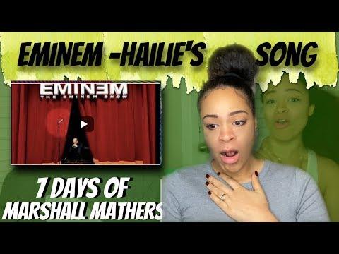 Eminem - Hailie's Song (Reaction)