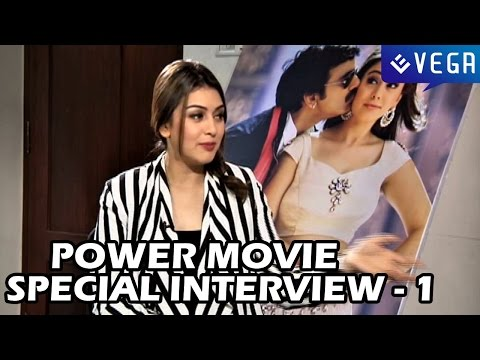 Power Movie - Special Interview - Part 1 - Hansika, Bobby