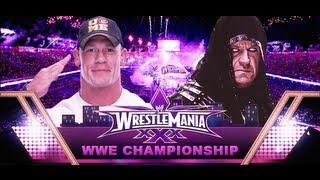 The Undertaker vs John Cena Wrestlemania 30 Promo