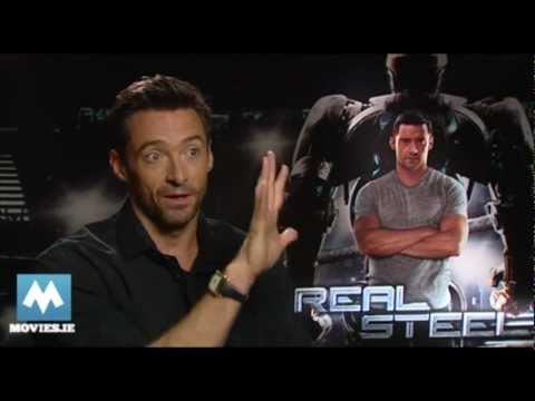 moviesireland - Fun Hugh Jackman interview by Paul Byrne for http://www.movies.ie Hugh is star of new Robot fighting movie REAL STEEL from director Shawn Levy. He is current...