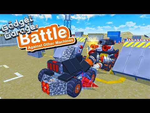 GADGET GARAGE - BUILDING A WAR ROBOT VS THE LITTLE CLUB!