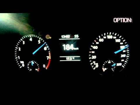 264 km/h en Volkswagen Scirocco R (Option Auto)