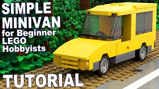 A complete tutorial on a Simple Minivan made from Lego bricks that is scaled for minifigures. This tutorial contains 76 pieces which are sited below.Content in this video is considered as family-friendly. Be respectful to others. All inappropriate comments will not be tolerated will be removed.JAYSTEPHER am not affiliated with Lego nor the Lego Group.Check out my official fan pages:SECOND CHANNEL: https://www.youtube.com/JLNRawFACEBOOK: https://www.facebook.com/jaystepherTWITTER: https://twitter.com/jaystepherINSTAGRAM: http://instagram.com/jaystepherJAYSTEPHER: http://www.jaystepher.com/GOOGLE+: https://plus.google.com/+jaystepher/postsYOUNOW: https://www.younow.com/JAYSTEPHERParts List:Bright Yellow8 - 1 by 1 Brick (300524)2 - 1 bu 2 Brick (300424)1 - 1 by 4 Brick (301024)1 - 2 by 4 Brick (300124)2 - 1 by 4 Brick With Bow (4522035)1 - 2 by 4 Brick With Bow (6079001)4 - 1 by 1 Plate (302424)1 - 1 by 2 Radiator Grill (241224)5 - 1 by 2 Plate (302324)1 - 1 by 4 Flat Tile (243124)2 - 1 by 3 Plate (362324)4 - 1 by 2 by 2 Corner Plate (242024)5 -  1 by 4 Plate (371024)2 - 2 by 4 Flat Tile (4560181)2 - 1 by 2 by 1 by 4 Angle Plate (243624)2 - 2 by 4 Mudguard (378824)1 - 1 by 3 Right Door (382124)1 - 1 by 3 Left Door (382224)1 - 2 by 2 by 2 Seat (407924)1 - 1 by 2 Console With Steering Wheel (9553)1 - 4 by 4 by 2/3 Hood Plate (4193073)Medium Stone Grey2 -  2 by 2 Double Bearing Element Plate (4211504)Dark Stone Grey4 - 1 by 1 Plate (4210719)2 - 1 by 4 Plate (4211001)1 - 4 by 12 Plate With Bottom (4259673)White1 - 1 by 2 Flat Tile (306901)Black4 - Ø11.2 X 6.2 Narrow Rim With Hole (4246900)4 - Ø14.58 X 6.24 Narrow Low Tire (4246901)Transparent2 - 1 by 1 Clear Round Flat Tile (4650498)2 - 1 by 1 Red Round Flat Tile (4646864)1 - 2 by 4 by 2 Brown Windscreen (4167504)5 - 1 by 2  by 2 Brown Wall Element (4189803)