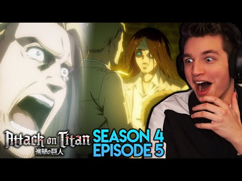 DECLARATION OF WAR REACTION!! | Attack on Titan Season 4 Episode 5