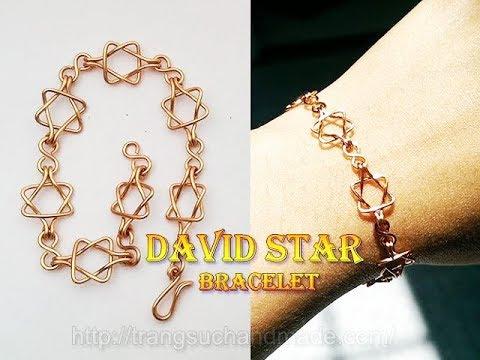 David star bracelet - unisex jewelry used for both men and women 351