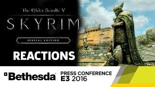 Skyrim Special Edition Reactions - E3 2016 GameSpot Post Show by GameSpot