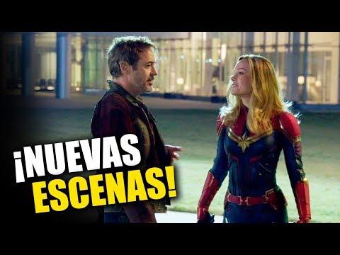 ¡BOMBAZO! Avengers ENDGAME vuelve al cine con escenas NUEVAS