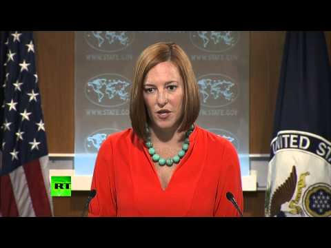 'Kiev has right to use airstrikes against civilians to defend sovereignty' - Psaki