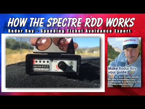 How Does the Spectre Radar Detector RDD Work