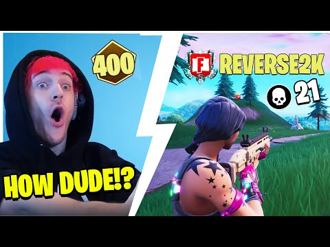 NINJA DIES AND SPECTATES REVERSE SLAY OUT IN 400 POINT LOBBY! *ULTIMATE CLUTCH*