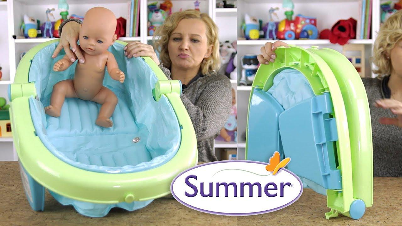 Wanienka składana dla niemowląt, Summer
