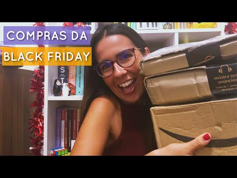 UNBOXING DE LIVROS DA BLACK FRIDAY DA AMAZON ? | Ana Carolina Wagner