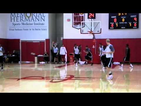Houston Rockets Scrimmage - 12/15/2011 - Part 2/2
