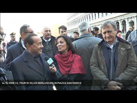 14/11/2019 | IL TOUR DI SILVIO BERLUSCONI IN PIAZZA SAN MARCO