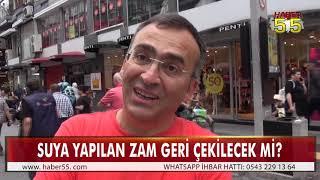 SAMSUN'DA VATANDAŞLAR SU ZAMMININ GERİ ALINMASINI İSTİYOR!