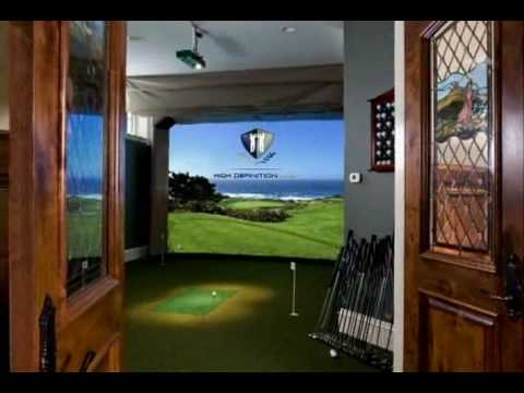 High Definition Golf,  Indoor Golf Simulator PGA Show 2009