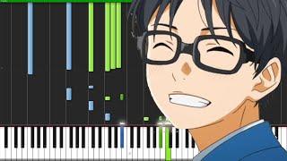 Nanairo Symphony - Shigatsu wa Kimi no Uso (Opening 2) [Piano Tutorial]