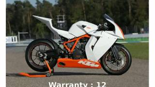 1. [techracers] 2012 KTM 1190 RC8 R Race Spec - Specification