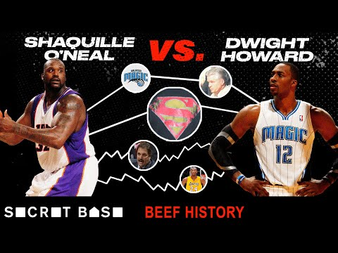 Video: Shaq started beefing with Dwight Howard over who deserved the title of Superman...and never stopped