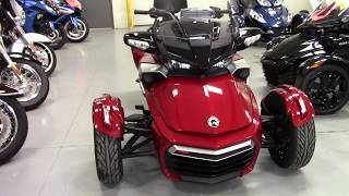 10. 2016 Can-Am Spyder F3-T SE6 - Used 3 Wheel Motorcycle For Sale - Burbank, Ohio