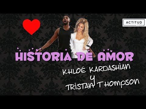 Historias de amor - La historia de amor entre Khloé Kardashian y Tristan Thompson  ActitudFem
