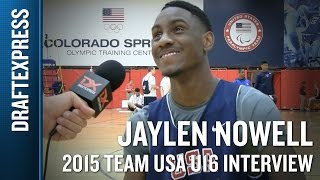 Jaylen Nowell 2015 Team USA U16 Interview - DraftExpress
