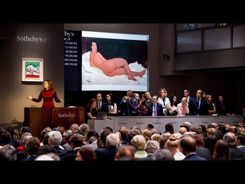 Rekordverkauf bei Sotheby's: 150 Millionen Dollar für ein Modigliani-Gemälde
