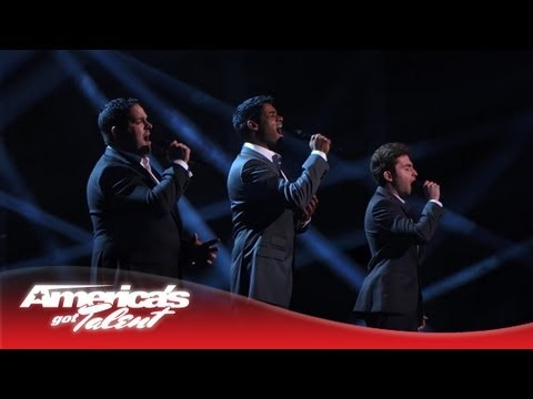 agt - The three guys who met online melt hearts with a powerful version of