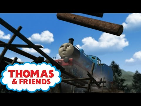 Thomas & Friends ⭐ Edwards First Time On Misty Island ⭐ Cartoons for Children ⭐ Videos for Kids