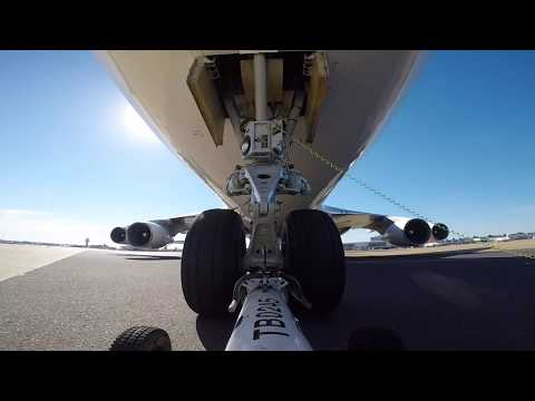 Ramp Life: WamosAir Boeing 747 pushback