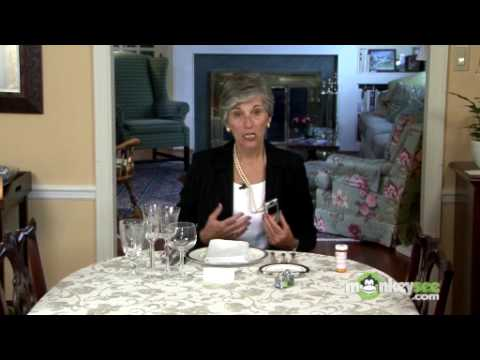 dining - To view the next video in this series click: http://www.monkeysee.com/play/2250 In this video, etiquette expert Nancy R. Mitchell, The Etiquette Advocate, gu...