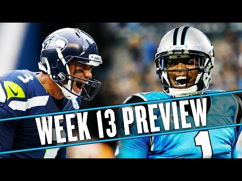 Video: NFL Week 13 preview: Which Seahawks team will show up against the Panthers? | Uffsides