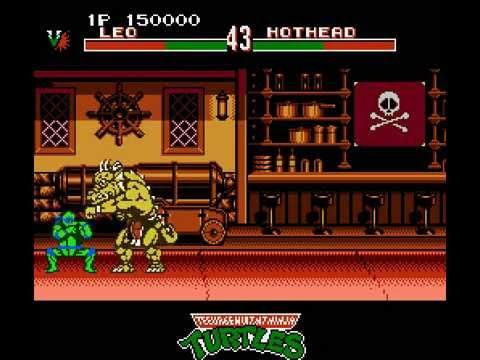 teenage mutant ninja turtles tournament fighters nes rom cool