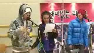 Big Bang - My Girl (live radio) 11.29.06