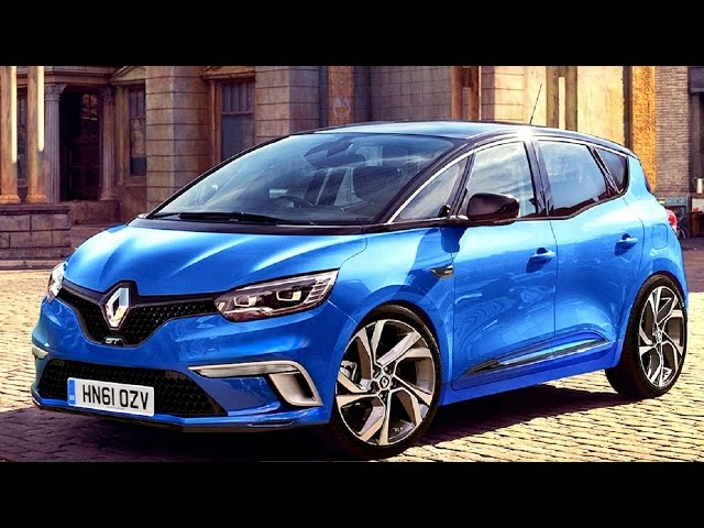 renault scenic gt 2016 first look. Black Bedroom Furniture Sets. Home Design Ideas