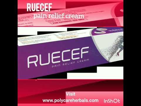 Instant Pain relief cream.