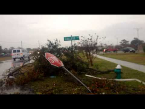 Morehead City - Here is a quick video we took this morning of the tornado damage around the Morehead City, NC - Atlantic Beach, NC area. Carteret Community College, EL's Dri...