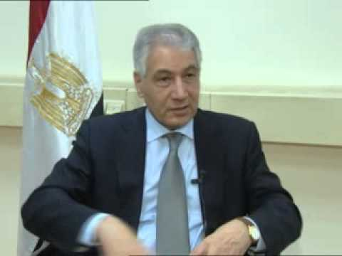 Dr  Ahmed Galal meeting with Nile TV