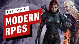 The Top 10 Modern RPGs of All Time by IGN