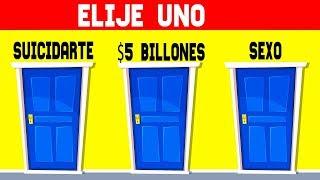¡LAS 10 ELECCIONES MAS DIFICILES! ACERTIJOS Y JUEGOS MENTALES