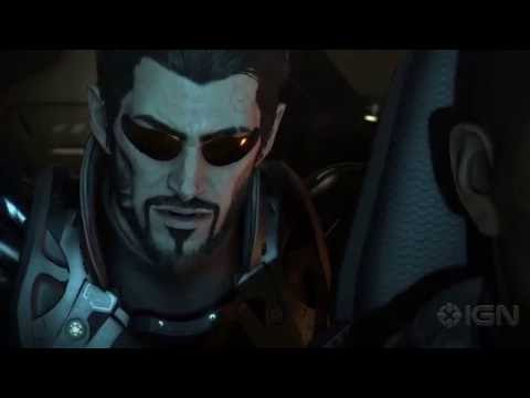 11 Minutes Of New Deus Ex: Mankind Divided Gameplay - Gamescom 2016