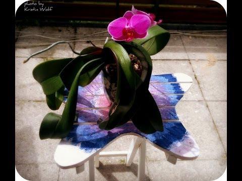 Restore your flower table DIY Frisch deinen Blumentisch auf ~