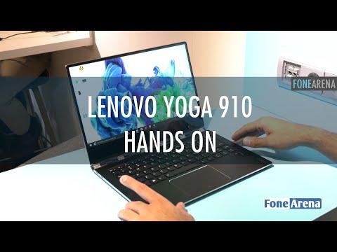 Lenovo Yoga 910 Hands On