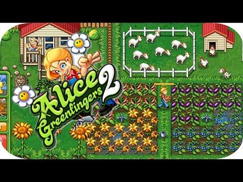 ألعاب مغبرة - لعبة  ( Alice Green Fingers 2 ) (видео)