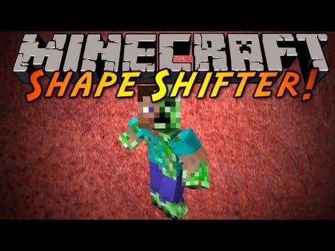 Minecraft Mod Showcase : SHAPE SHIFTER!