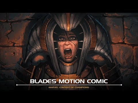 Blades Motion Comic | Marvel Contest of Champions