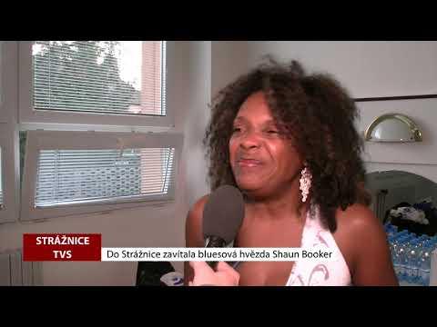 TVS: Strážnice - Do Strážnice zavítala bluesová hvězda Shaun Booker